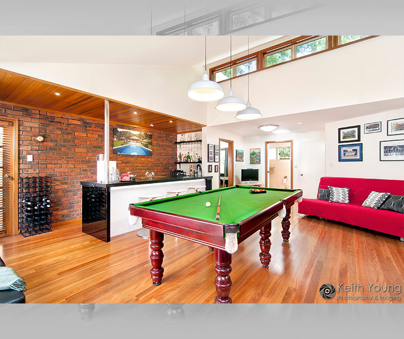 rumpus and games room photography