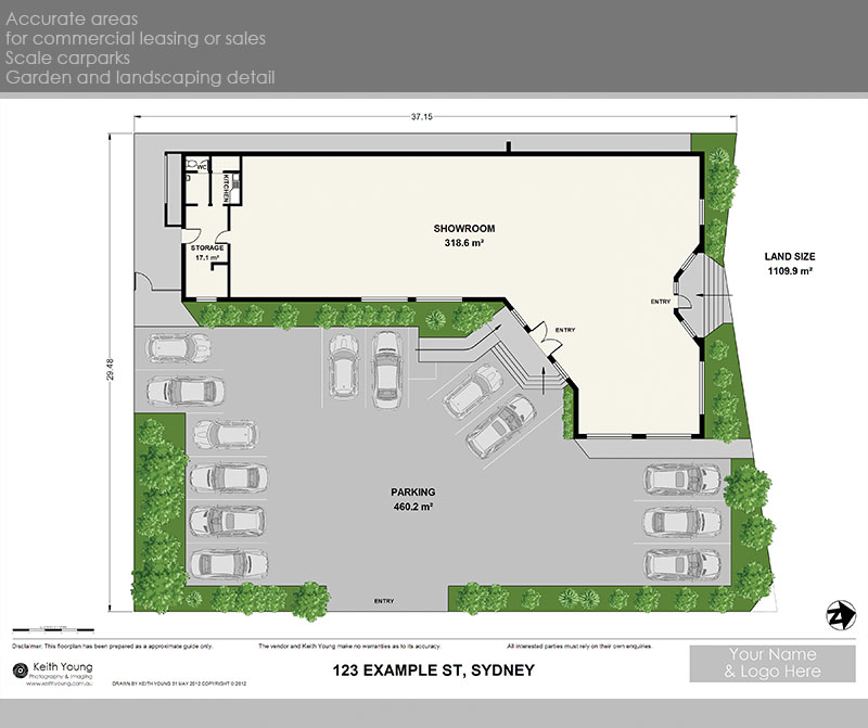 commercial leasing and carpark plans